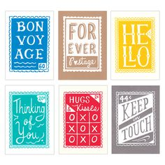 Pick up these stamp-inspired cards at Re:Make 2015.