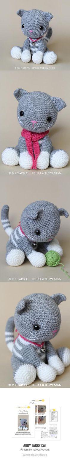 Abby Tabby Cat Amigurumi Pattern