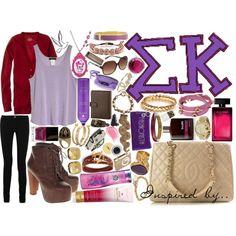 Inspired by: Sigma Kappa, created by irishfleur06