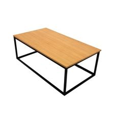 Shop for Wooden Top Metal Frame Coffee Table. Get free shipping at Overstock.com - Your Online Furniture Outlet Store! Get 5% in rewards with Club O!