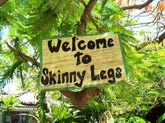 Skinny Legs, St John USVI  Best burgers ever!!! Yummm