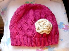 Rosy Slouch Hat