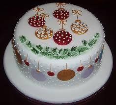 Resultado de imagem para cake decorating ideas & Christmas Cake u2026 | Christmau2026