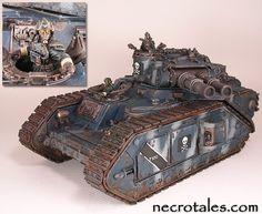 40k - Macharius Superheavy Tank by Kep via Necrotales.com
