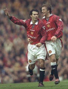 Ryan Giggs 11, gales. David Beckham 7, ingles - Manchester United