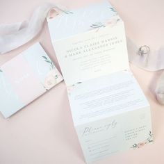 Ella Grey Floral Concertina Wedding Invitations by Project Pretty, the perfect gift for Explore more unique gifts in our curated marketplace. Luxury Wedding Invitations, Wedding Stationery, Invite Your Friends, Paper Goods, Pretty In Pink, Unique Gifts, Wedding Day, Grey