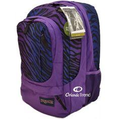 Jansport Airlift Air Cure 15 inch Laptop Backpack Bag Black Prism Purple Zebra TXC0 for $55.00 at OrlandoTrend.com  #Jansport #Backpack #Bookbag #Mochila #Maletin #OrlandoTrend