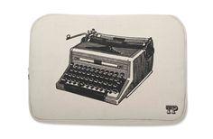 typewriter laptop case...def on my wish list!