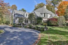 House of the Day ~ Distinctive & elegant all brick colonial on private 2. 55 acres perched high with gorgeous views, prestigious neighborhood!  Offered by Lucille Liang - http://www.raveis.com/mls/3332589/28wrightsmillrd_armonk_ny