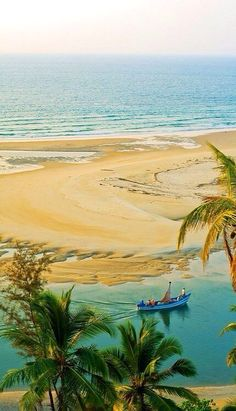 Beautiful places in India :: Estuary...where the backwaters meet the ocean~Kerala, India