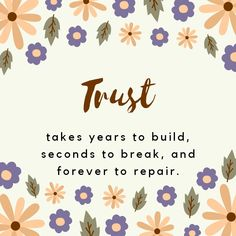 Because T.R.U.S.T is so priceless #quotes #trust
