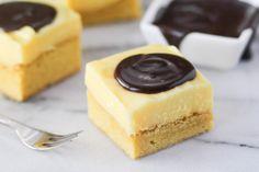 Boston Cream Pie Bars Recipe