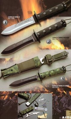 Cuchillos Aitor Jungle King II, cuchillos de supervivencia.