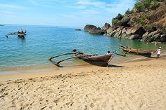 Escape to this beautiful island beach by boat. Photo credit: Tourmet