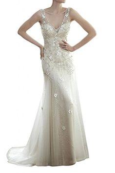 beb80300b4e MILANO BRIDE Elegant Mermaid Illusion Neck Crystals Evening Prom Dress-10-Chocolate  at Amazon Women s Clothing store