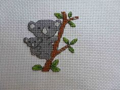 Cross Stitch - Panel for Kids Company Project - stitched February 2012