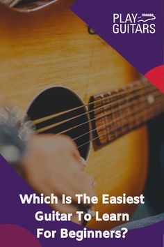 If you're just starting out on the guitar, you may have yet to decide what type of guitar you'd like to learn on. Here a few key tips to help you choose an easy guitar for beginners. Not everyone will agree on what is the easiest guitar to learn for beginners but we will try our best to recommend a few good ones! #learnguitar #playguitar #guitarforbeginners Easy Guitar Chords, Easy Guitar Songs, Guitar Tips, Guitar Lessons, Buy Guitar, Learn To Play Guitar, Guitar Solo, Cheap Electric Guitar, Guitar Songs For Beginners