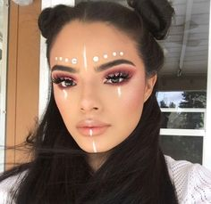 Artistic makeup, cosmetics, rhinestones and wigs - mak. - Artistic makeup, cosmetics, rhinestones and wigs – makeup Artistic make - Rave Makeup, Goth Makeup, No Eyeliner Makeup, Makeup Art, Beauty Makeup, Makeup Quiz, Makeup Meme, 60s Makeup, Fairy Makeup