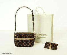 Dollhouse Miniatures 05 LV Designer Handbags with by DollhouseAra, $42.00
