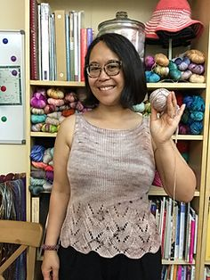 Ravelry: Bamboo Summer Top pattern by Nancy Ricci [in my Google Drive]