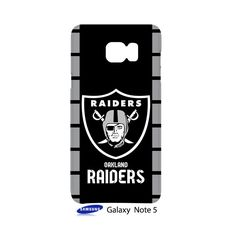 Oakland Raiders Samsung Galaxy Note 5 Case Cover Wrap Around