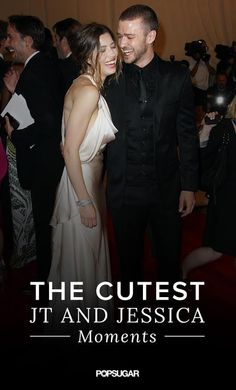 Look back at Justin Timberlake and Jessica Biel's cutest couple moments through the years!