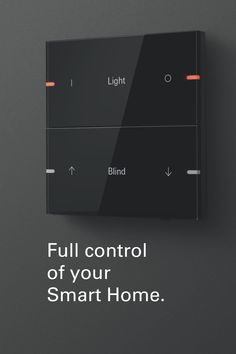 The new #Gira pushbutton sensor 4 convinces with a high-quality, modern design, solid materials and a pleasant feel, thanks to its 3-mm-thick material overlay. Light, blinds or entire scenes can be controlled intuitively within your #SmartHome. Bedroom Setup, Home Decor Bedroom, Dream Home Design, Modern House Design, Riverside Cottage, Living Room Tv Unit Designs, House Extension Design, Home Lighting Design, Open Plan Kitchen Living Room