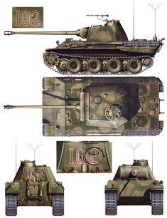 Пантера - А 4th Pz reg Italy May-June '44