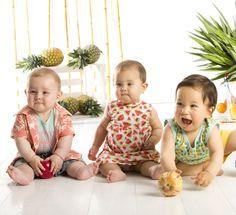 Colección Tropical - Maracuyá #tropical # photoshoot # kids # maracuya #maracuyaperu