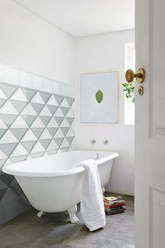 Indoor ultra thin #glass wall tiles @Seves Vetroarredo Skin #bathroom #bathtub #wall