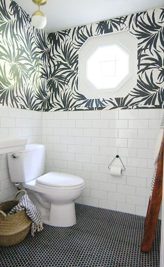 We're always on the lookout for great small bathrooms, where smart design comes into play, and rooms make the most of what space they've got. Sometimes it's clever storage that catches our eye, and sometimes it's a transformative DIY that stretches the budget. Here are a few of our favorite small space bathroom overhauls. None of these ideas disappoint.