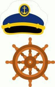 Sailor beret & steering wheel--------------------I think I'm in love with this shape from the Silhouette Online Store! Boy Birthday Parties, Baby Birthday, Cruise Theme Parties, Nautical Clipart, Silhouette Online Store, Nautical Party, Party Props, Nautical Fashion, Elements Of Art