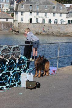 Crabbing at St.Mawes
