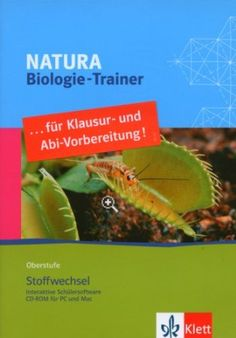 Natura Biologie-Trainer Oberstufe. Stoffwechsel. CD-ROM ab Windows 2000/XP oder ab Mac G4 Mac Software, Trainer, Business, Biology, Metabolism, Rome, School