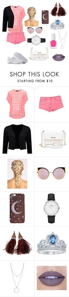 """""""Untitled #79"""" by iuliamariacristea ❤ liked on Polyvore featuring Replace, Velvet Heart, NIKE, Boohoo, Fendi, CLUSE, Louis Vuitton, Disney, Botkier and Jeffree Star"""