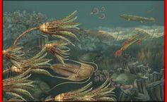 Devonian ocean