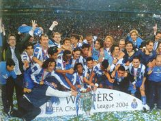 Champions league sieger 2003/04 FC Porto Fc Porto, Champions League, Memories, Souvenirs, Remember This