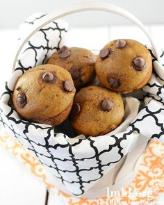 Easy pumpkin chocolate chip cookies.