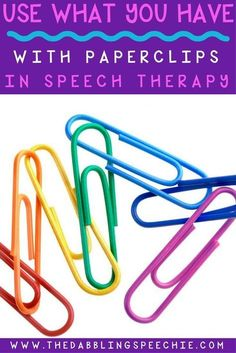 Paperclips In Speech