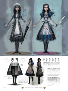 Alice McGee's Alice: Madness Returns concept art