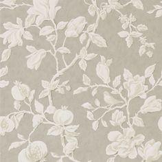 Linen Wallpaper, Print Wallpaper, Wallpaper Roll, Bedroom Wallpaper, Wallpaper Designs, Farmhouse Wallpaper, Feature Wallpaper, Wallpaper Calculator, Magnolia Flower