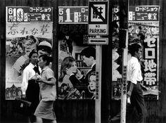 """William Klein. """"Cineposter"""". 1961. Tokyo, Japan."""