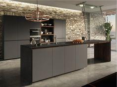 Cozinha integral FORMA MENTIS - LACQUERED DOOR by VALCUCINE