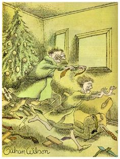 Post with 26 votes and 1867 views. Shared by Christmas Time With Gahan Wilson Gahan Wilson, Wilson Art, Fun Comics, Horror Films, Christmas Humor, Macabre, Golden Age, Cover Art, Playboy