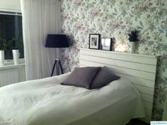 fondtapeter,sänggavel