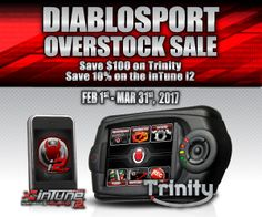 "This just across my desk re @DiabloSport inTune i2 performance programmer. We installed an inTune i2 in our test vehicle (2015 Ford F-150 Eco-Boost) and all we gotta say is Wow-Sa. It chirps the rear tires (all you performance maniacs will know what that means); great seat-of-the-pants torque; and even under light throttle, the F-150 has an ""assured,"" ready-to-pounce feel.  Tuned, indeed! If you've been thinking about a performance tuner, here's your chance to get the jedi of all...at a…"