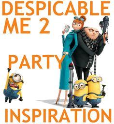 Despicable Me Party Inspiration