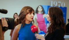 Inês Castel-Branco em entrevista para o Fama Show