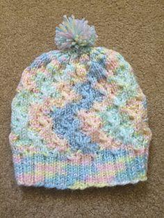 c66d1df0ee0 Free Knitting Pattern...Super Pink Toddler Hat!