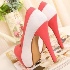 Stiletto High Heels Rose Pumps